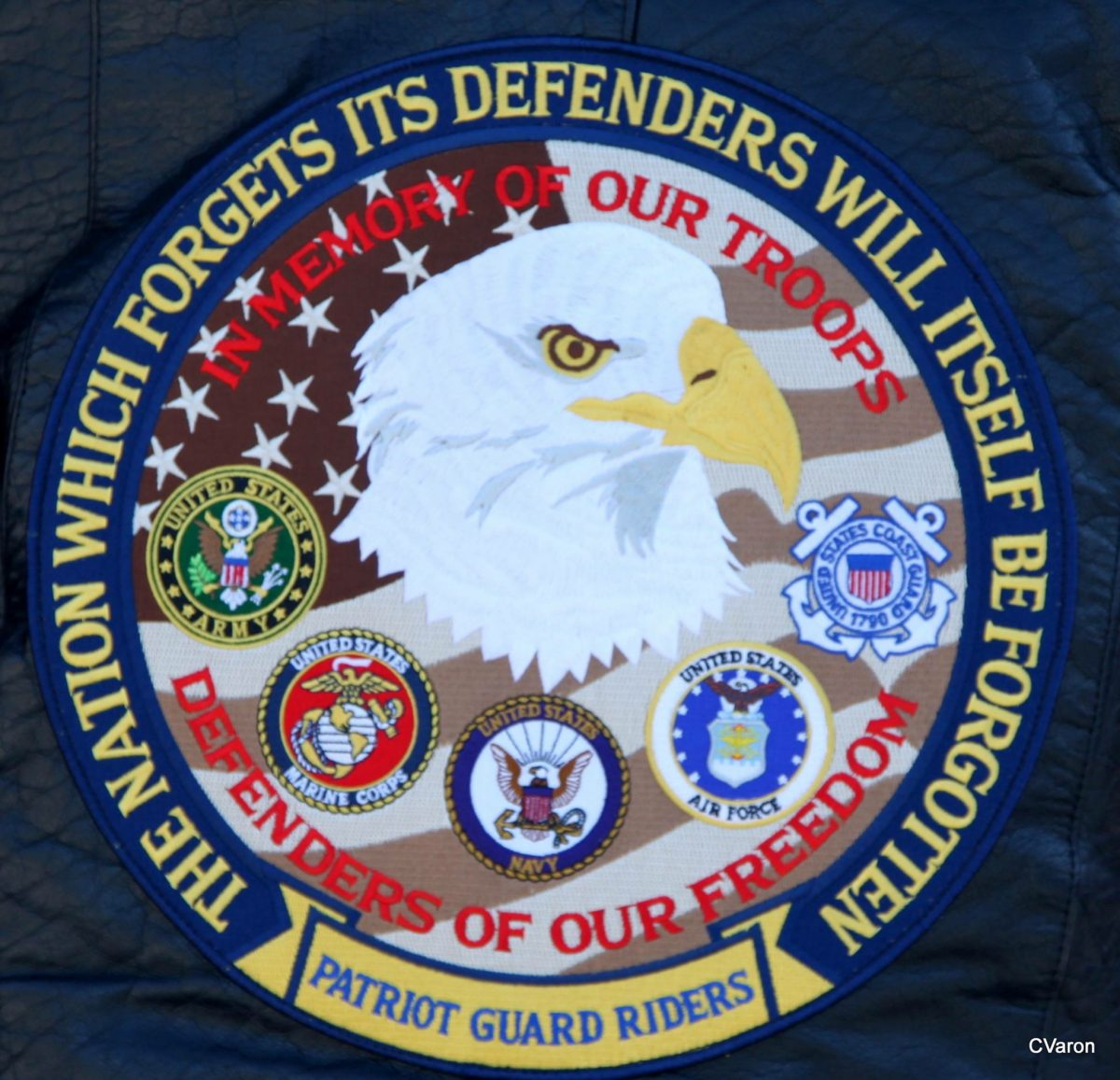 My Salute to the Members of the Patriot Guard Riders of New York